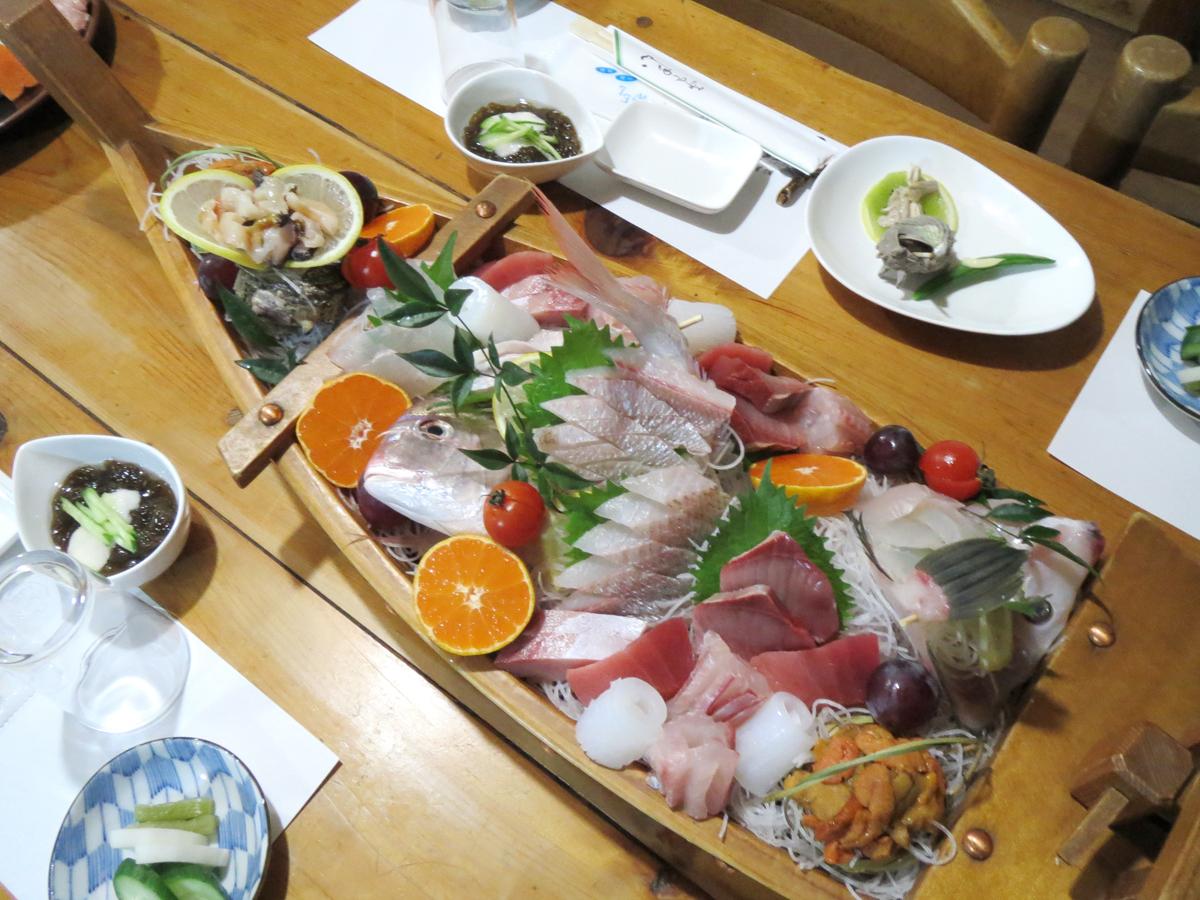 新鮮地魚舟盛り宿泊プラン【4様以上にオススメ】